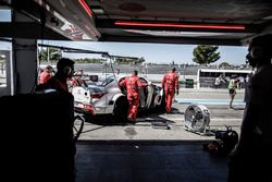 Citroën World Touring Car team garage