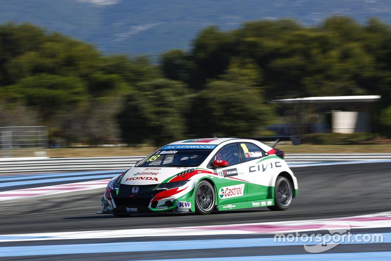 Geoff Bodine Honda >> Tiago Monteiro Honda Civic Wtcc Honda Racing Team Jas At Paul Ricard