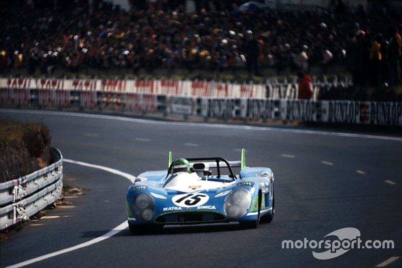 Equipo Matra-Simca Shell Team, Matra-Simca MS670 #15: Henry Pescaro, Graham Hill