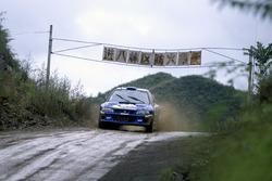 Subaru World Rally Team en el Rally de China