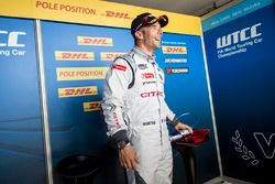 Polesitter Sébastien Loeb, Citroën C-Elysee WTCC, Citroën World Touring Car Team