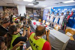 Conferencia de prensa: Mehdi Bennani, Citroën C-Elysee WTCC, Sébastien Loeb Racing, Yvan Muller, Cit