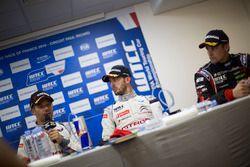 Conferencia de prensa: Sébastien Loeb, Citroën C-Elysee WTCC, Citroën World Touring Car team, Jose M
