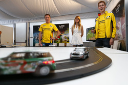 Jaap van Lagen, Lada Vesta WTCC, Lada Sport Rosneft and Nicky Catsburg, Lada Vesta WTCC, Lada Sport Rosneft