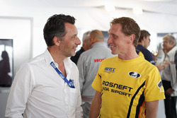 François Ribeiro, Eurosport Events Motorsport COO;亚普·范拉根,拉达车队