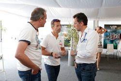 François Ribeiro, Eurosport Events Motorsport COO;塞巴斯蒂安·勒布,雪铁龙WTCC车队