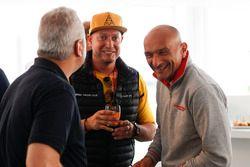 Rob Huff, Lada Vesta WTCC, Lada Sport Rosneft and Gabriele Tarquini, Honda Civic WTCC, Honda Racing Team JAS