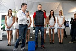 François Ribeiro, Eurosport Events Motorsport COO;马泰·荷姆拉,坎波斯车队