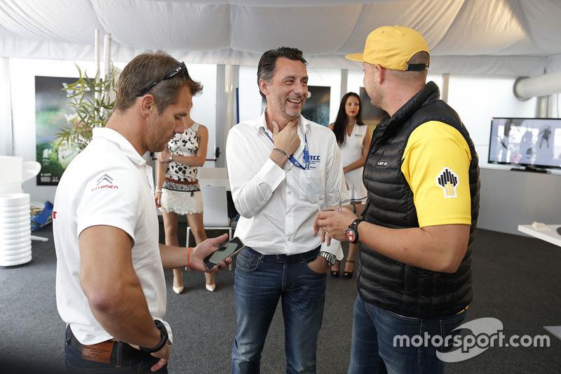 François Ribeiro, Eurosport Events Motorsport COO;罗伯·荷夫,拉达车队