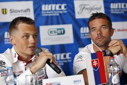 Press conference: Matej Homola, Chevrolet RML Cruze TC1, Campos Racing and Sébastien Loeb, Citroën C