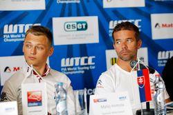 Conferencia de prensa: Matej Homola, Chevrolet RML Cruze TC1, Campos Racing y Sébastien Loeb, Citroë