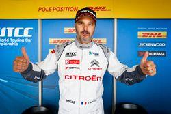 Ganador de la pole Yvan Muller, Citroën C-Elysee WTCC, Citroën World Touring Car team