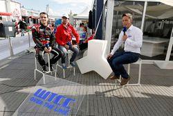 Jose Maria Lopez, Citroën C-Elysee WTCC, Citroën World Touring Car team and Norbert Michelisz, Honda