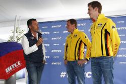 亚普·范拉根,拉达Vesta WTCC, 拉达车队;尼基·卡斯伯格,拉达Vesta WTCC, 拉达车队;François Ribeiro, Eurosport Events Motorsport D