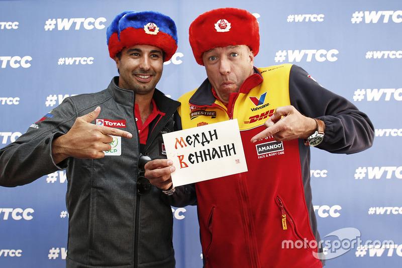 Mehdi Bennani, Citroën C-Elysee WTCC, Sébastien Loeb Racing ve Tom Coronel, Chevrolet RML Cruze TC1,