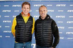 Ники Катсбург, Lada Vesta WTCC, Lada Sport Rosneft и Рикард Рюдель, Honda Civic WTCC, Nika Internati