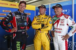 Tom Chilton, Chevrolet RML Cruze TC1, ROAL Motorsport, Rob Huff, Lada Vesta WTCC, Lada Sport Rosneft, Gabriele Tarquini, Honda Civic WTCC, Honda Racing Team JAS