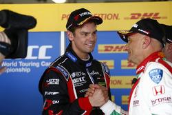 Tom Chilton, Chevrolet RML Cruze TC1, ROAL Motorsport Gabriele Tarquini, Honda Civic WTCC, Honda Racing Team JAS