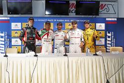 Conferenza Stampa: Tom Chilton, Chevrolet RML Cruze TC1, ROAL Motorsport, Gabriele Tarquini, Honda C