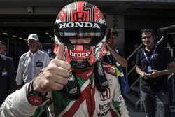 Race winner Tiago Monteiro, Honda Civic WTCC, Honda Racing Team JAS