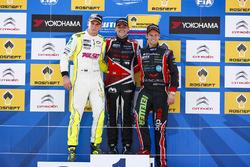 Podium: Norbert Michelisz, Honda Civic WTCC, Zengo Motorsport, Hugo Valente, Chevrolet RML Cruze TC1