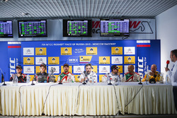 Press conference: Norbert Michelisz, Honda Civic WTCC, Zengo Motorsport, Tom Chilton, Chevrolet RML