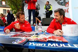 塞巴斯蒂安·勒布、伊万·穆勒,雪铁龙WTCC车队;