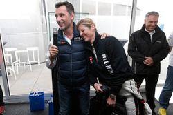 François Ribeiro, Eurosport Events Motorsport COO;萨宾·施密茨,慕尼黑车队