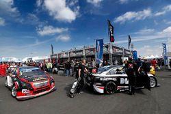 Tom Chilton, Chevrolet RML Cruze TC1, ROAL Motorsport und Norbert Michelisz, Honda Civic WTCC, Zengo