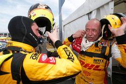 Jaap van Lagen, Lada Vesta WTCC, Lada Sport Rosneft and Tom Coronel, Chevrolet RML Cruze TC1, ROAL Motorsport
