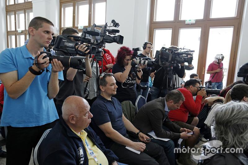 Medya basın konferansında