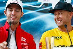 Press conference: Jose Maria Lopez, Citroën C-Elysee WTCC, Citroën World Touring Car team, Rob Huff,