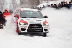 Михаил Лепехов и Евгений Новиков, Mitsubishi Lancer Evo X