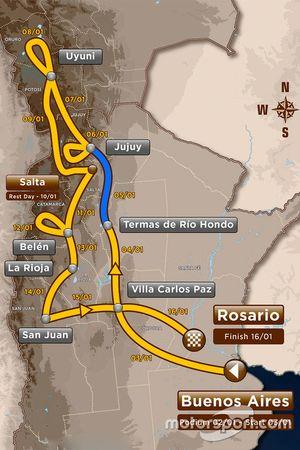 3. Etap: Termas de Río Hondo - Jujuy