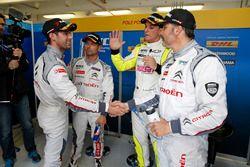 Polesitter: Yvan Muller, Citroën C-Elysee WTCC, Citroën World Touring Car team, Jose Maria Lopez, Ci