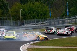 Rob Huff, Lada Vesta WTCC, Lada Sport Rosneft crash