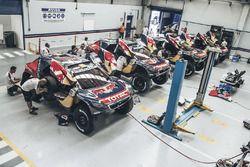 Le bivouac Peugeot Sport