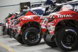 Área del equipo Peugeot Sport
