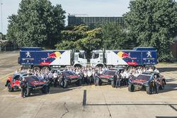Foto del Peugeot Sport team