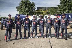 La photo des pilotes Peugeot Sport