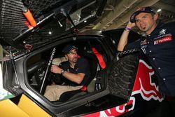 Luc Alphand und Cyril Despres, Peugeot Sport