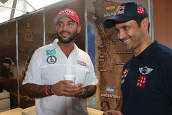 Yazeed Al-Rajhi y Nasser Al-Attiyah