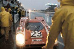 Equipo Porsche Salzburgo #23 Porsche 917: Hans Hermann, Richard Atwood