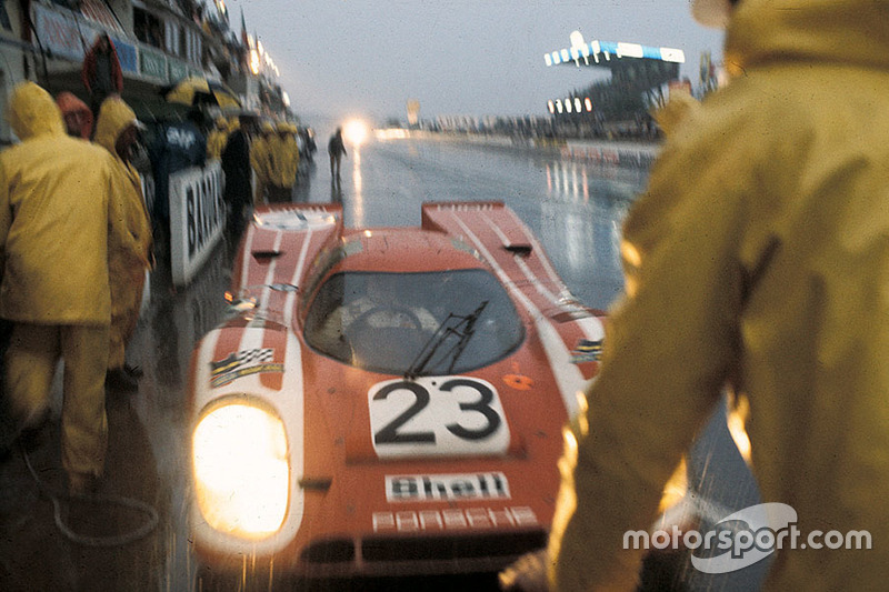 El Porsche 917 #23 de Hans Hermann y Richard Attwood en 1970