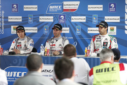 Press conference: polesitter Jose Maria Lopez, Citroën C-Elysee WTCC, Citroën World Touring Car team