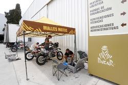Área de motos