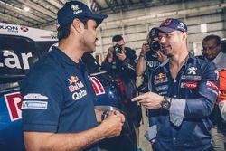 Sébastien Loeb, Peugeot Sport and Nasser Al-Attiyah
