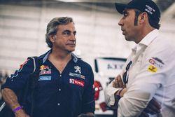 Carlos Sainz, Peugeot Sport, Nani Roma, X-Raid Team