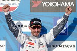 Podium: winner Jose Maria Lopez, Citroën C-Elysee WTCC, Citroën World Touring Car team