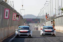 Yvan Muller, Citroën C-Elysee WTCC, Citroën World Touring Car Takımı ve Sébastien Loeb, Citroën C-El